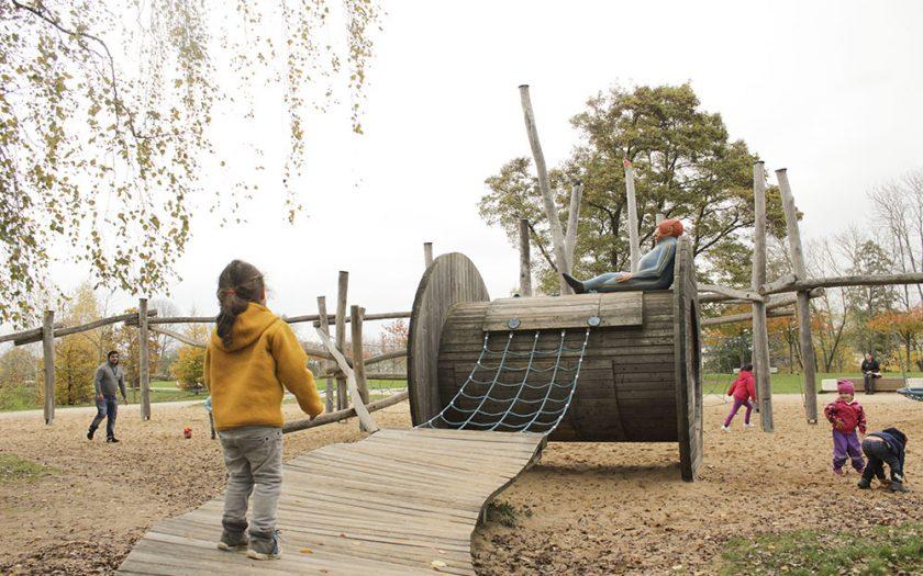 Ausflugstipps Franken mit Kindern und Jugendlichen, Familienausflug in Mittelfranken, Unterfranken und Oberfranken, Sams Spielplatz und Wassersielplatz auf der Erba-Insel in Bamberg