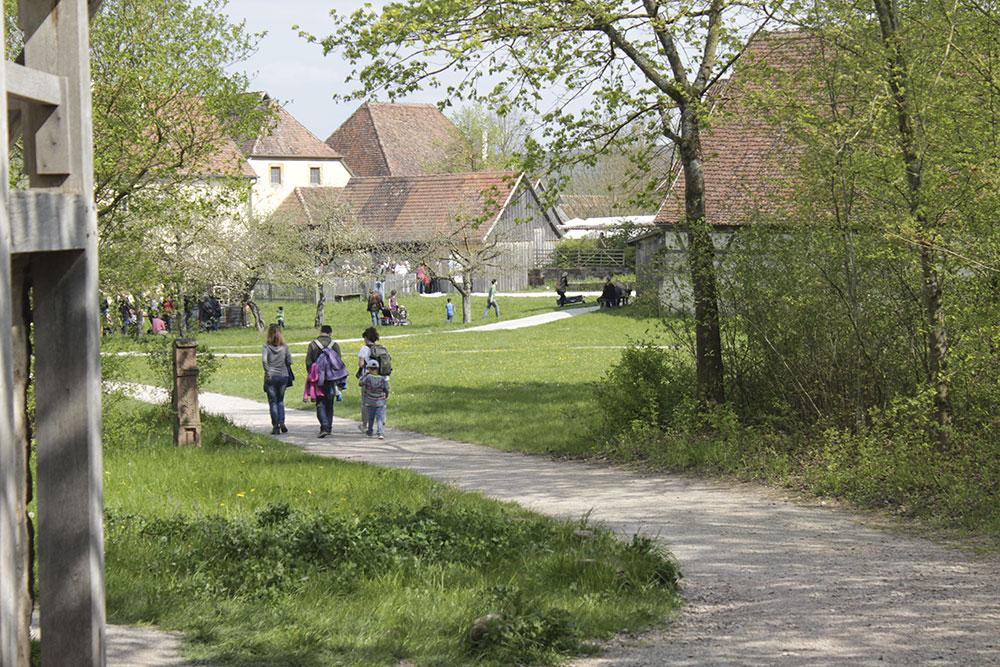 Fränkische Freilandmuseum Bad Windsheim, Freiluftmuseum Mittelfranken, Museum für Kinder und Jugendliche, Ausflugstipps Franken mit Kindern und Jugendlichen, Familienausflug in Mittelfranken, Unterfranken und Oberfranken,