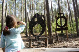 Walderlebniszentrum Tennenlohe bei Erlangen, Nürnberg, Fürth, Naturerlebnispfad für Kinder und Jugendliche in Mittelfranken, Urwildpferde im Tenneloher Forst, Wildschweingehege Erlangen
