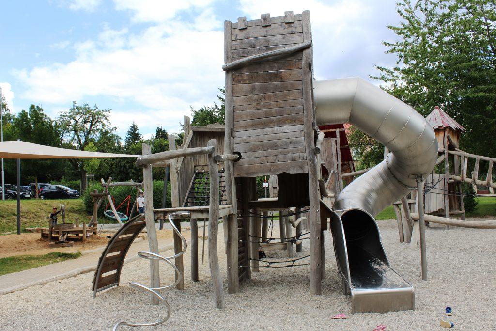 Rothenburg Städtetrip mit Kindern Spielplatz