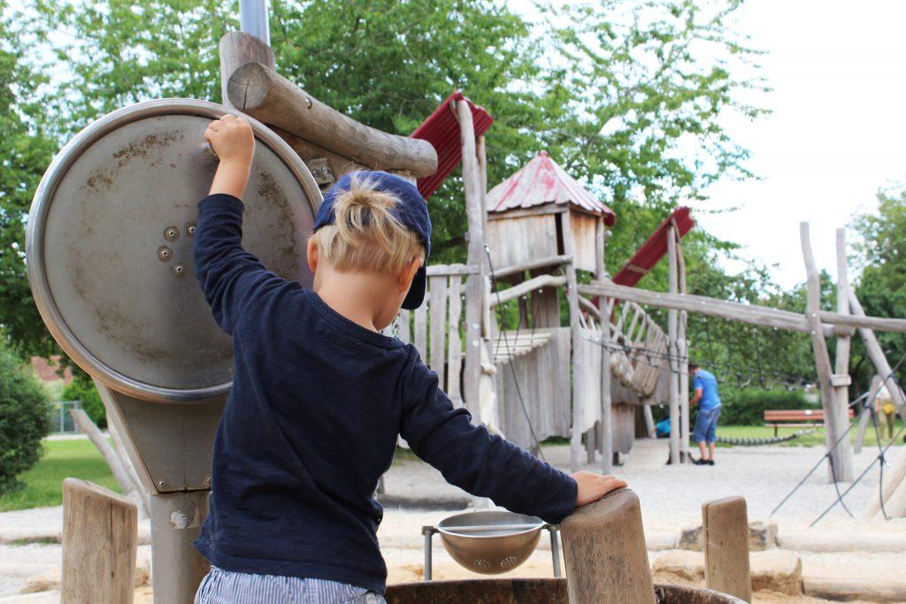 Rothenburg Städtetrip mit Kindern