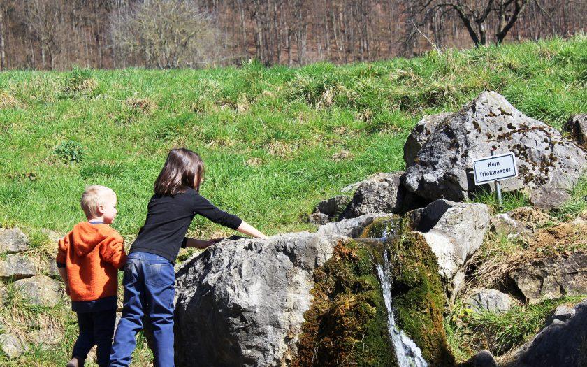 Naturerlebnisweg Melkendorf, Wandern mit Kindern in der fränkischen Schweiz, Fränkische Toskana Familienausflug