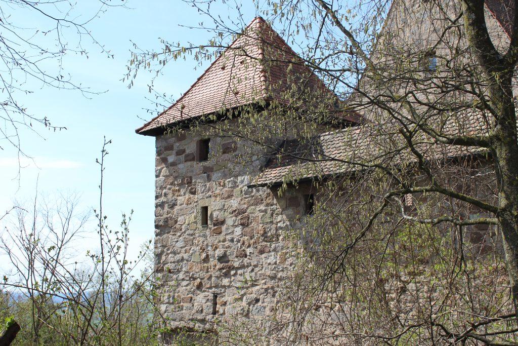 Burg Hoheneck, Wandern mit Kindern in Franken